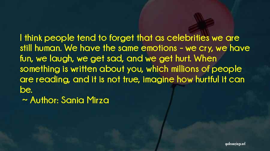 True But Hurtful Quotes By Sania Mirza