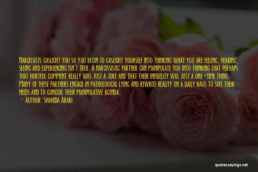 True But Hurtful Quotes By Shahida Arabi