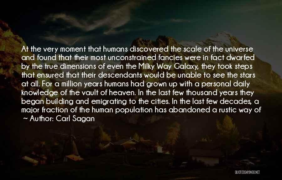 True Daily Life Quotes By Carl Sagan