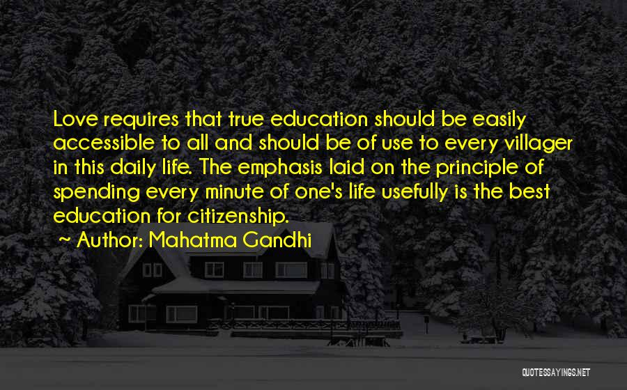 True Daily Life Quotes By Mahatma Gandhi