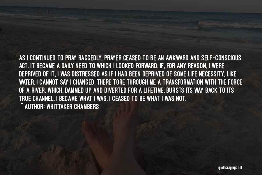 True Daily Life Quotes By Whittaker Chambers
