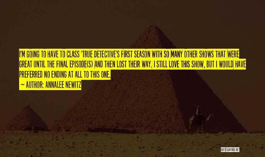 Top 1 True Detective Season 1 Episode 2 Quotes & Sayings
