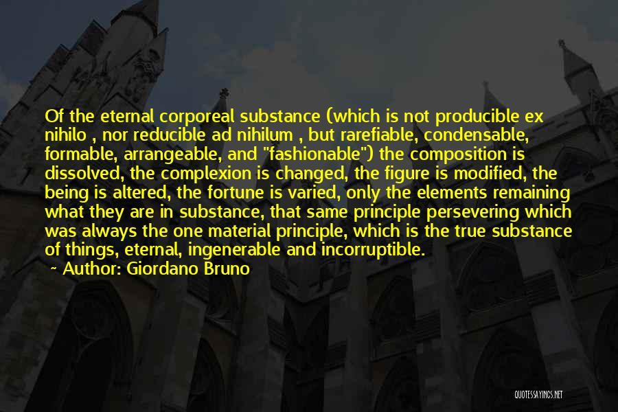 True Ex Quotes By Giordano Bruno