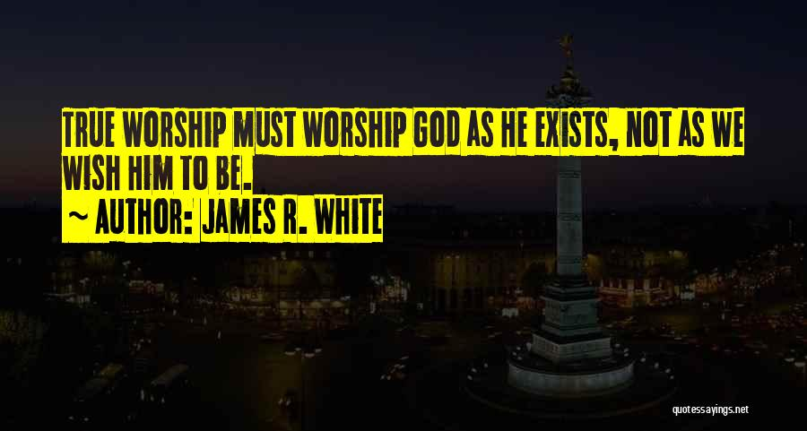 True Ex Quotes By James R. White