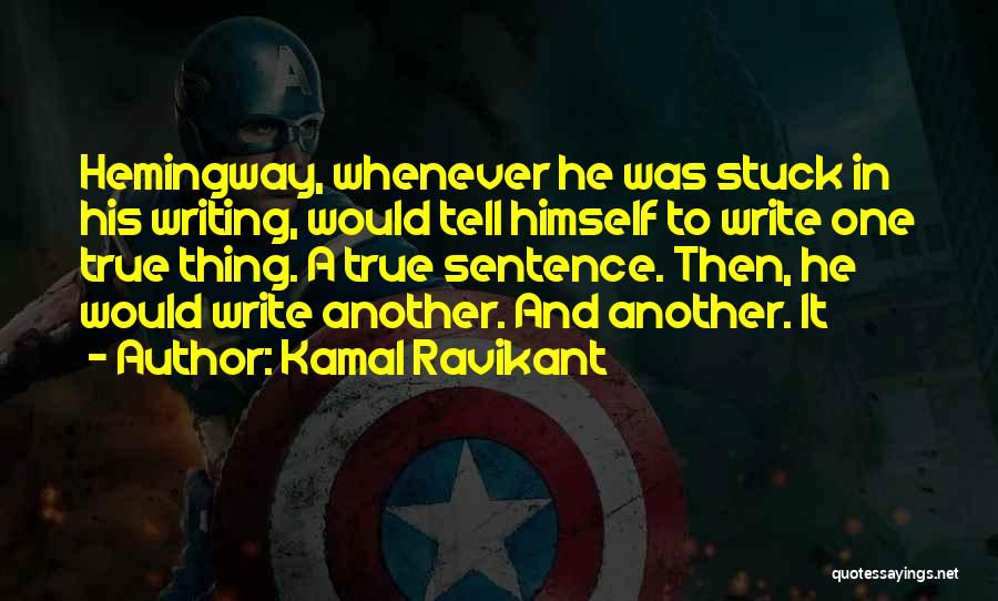 True Ex Quotes By Kamal Ravikant