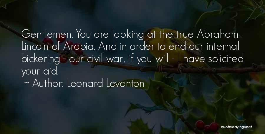 True Ex Quotes By Leonard Leventon