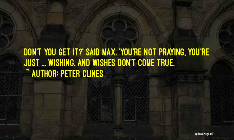 True Ex Quotes By Peter Clines