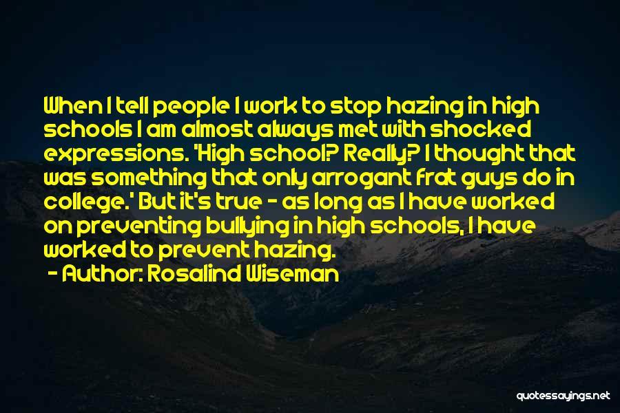 True Ex Quotes By Rosalind Wiseman