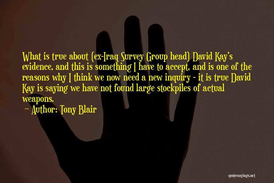 True Ex Quotes By Tony Blair
