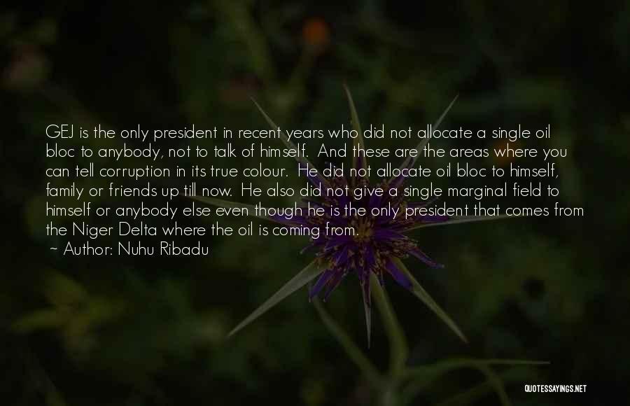 True Friends Talk Quotes By Nuhu Ribadu