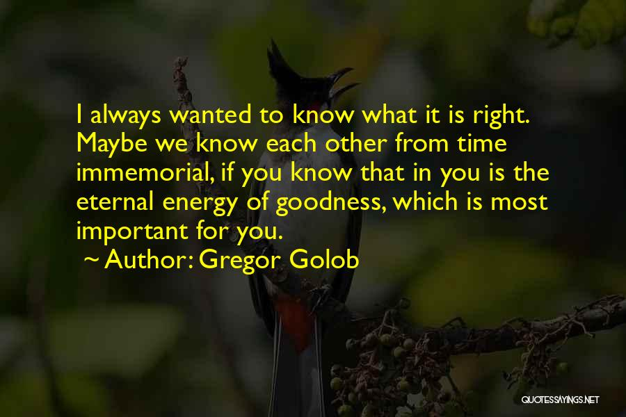 True Good Friend Quotes By Gregor Golob
