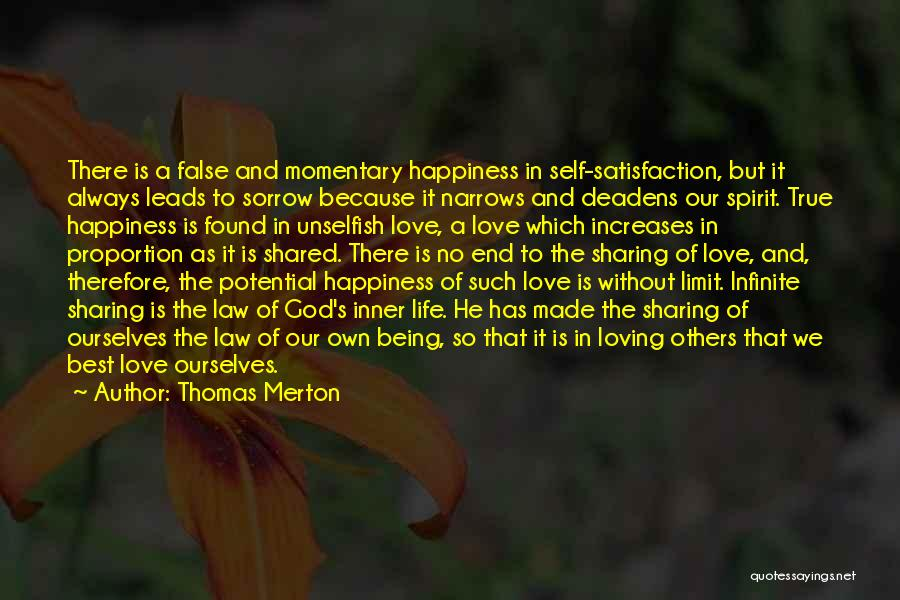 True Happiness God Quotes By Thomas Merton