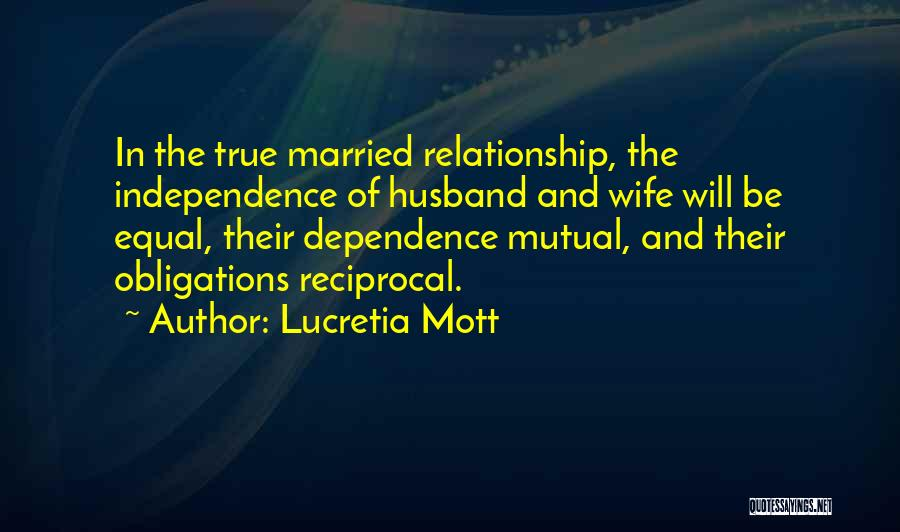 True Independence Quotes By Lucretia Mott