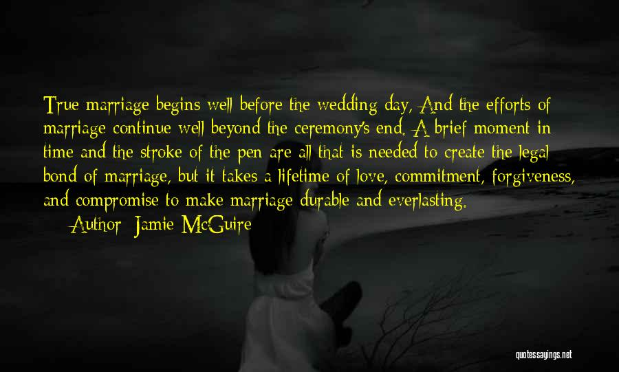 True Love Takes Time Quotes By Jamie McGuire