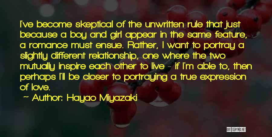 True Love True Friendship Quotes By Hayao Miyazaki