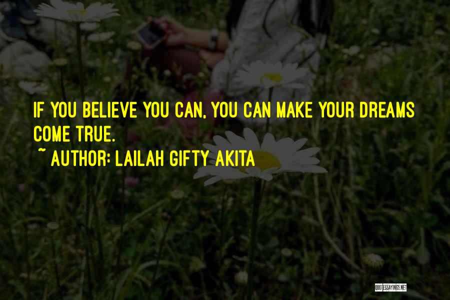 True Self Confidence Quotes By Lailah Gifty Akita