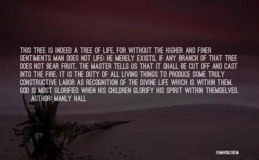 Truly Living Life Quotes By Manly Hall