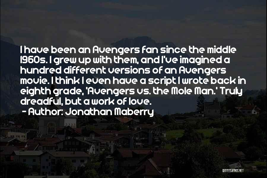 Truly Love Quotes By Jonathan Maberry
