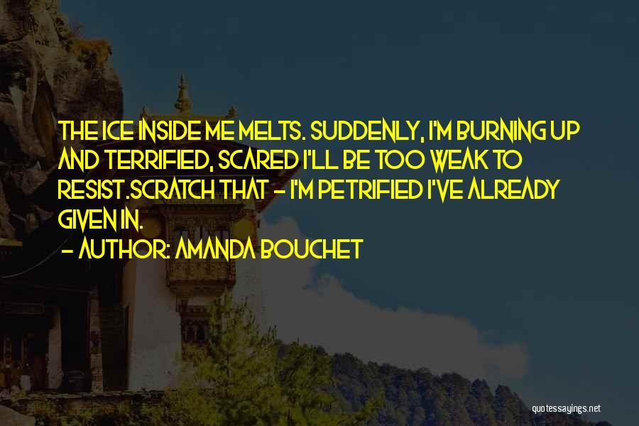 Trust And Love In Relationships Quotes By Amanda Bouchet