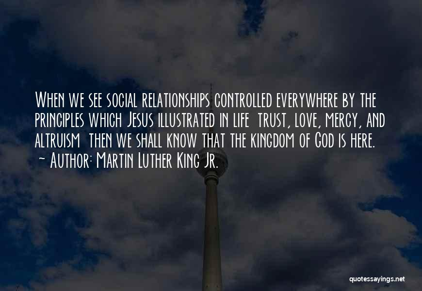 Trust And Love In Relationships Quotes By Martin Luther King Jr.