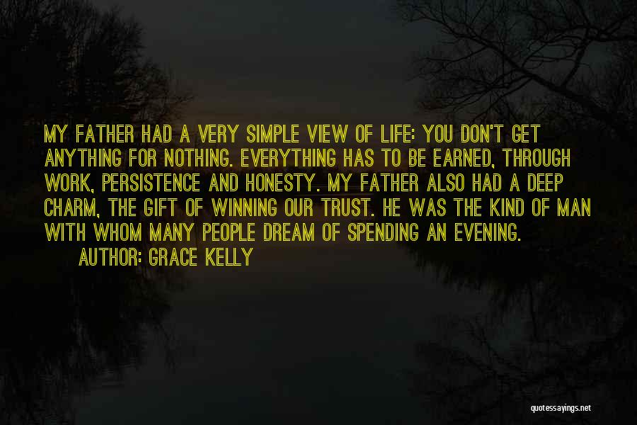 Trust Has To Be Earned Quotes By Grace Kelly