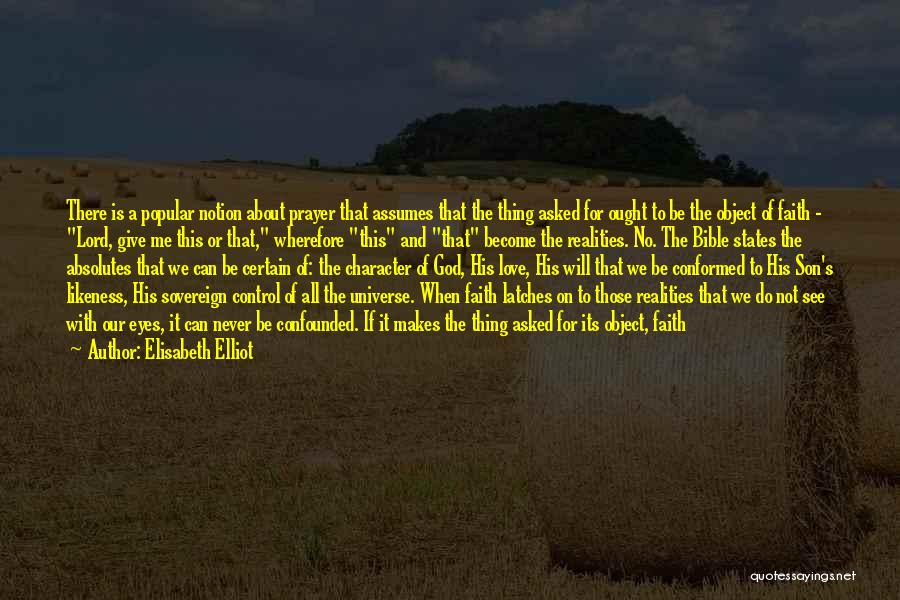 Trust In God Quotes By Elisabeth Elliot