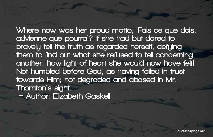 Trust In Him Quotes By Elizabeth Gaskell