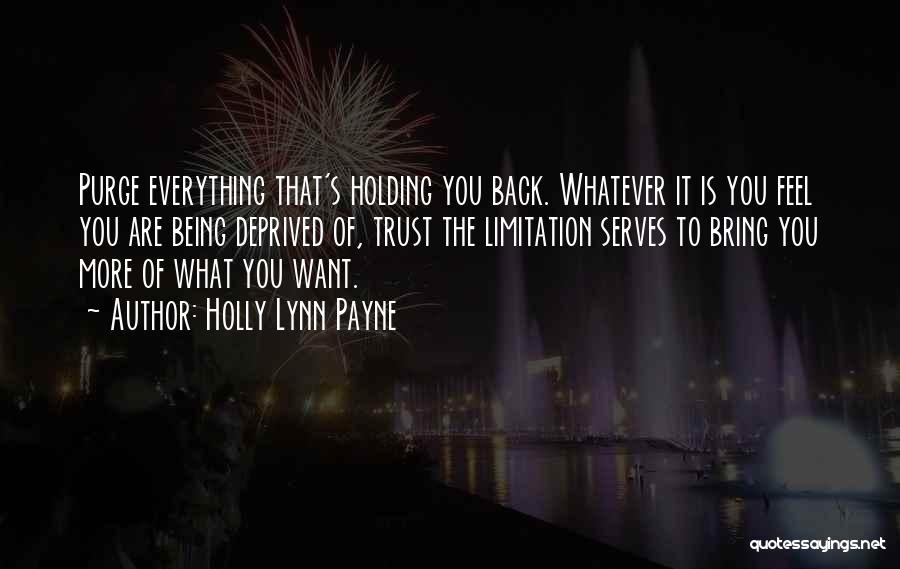 Trust In Me J Lynn Quotes By Holly Lynn Payne