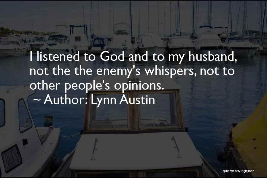 Trust In Me J Lynn Quotes By Lynn Austin