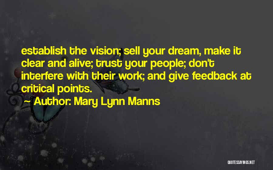 Trust In Me J Lynn Quotes By Mary Lynn Manns
