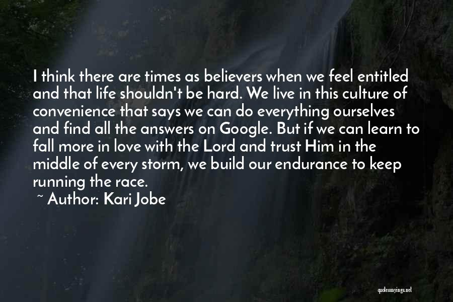 Trust Is Hard To Build Quotes By Kari Jobe