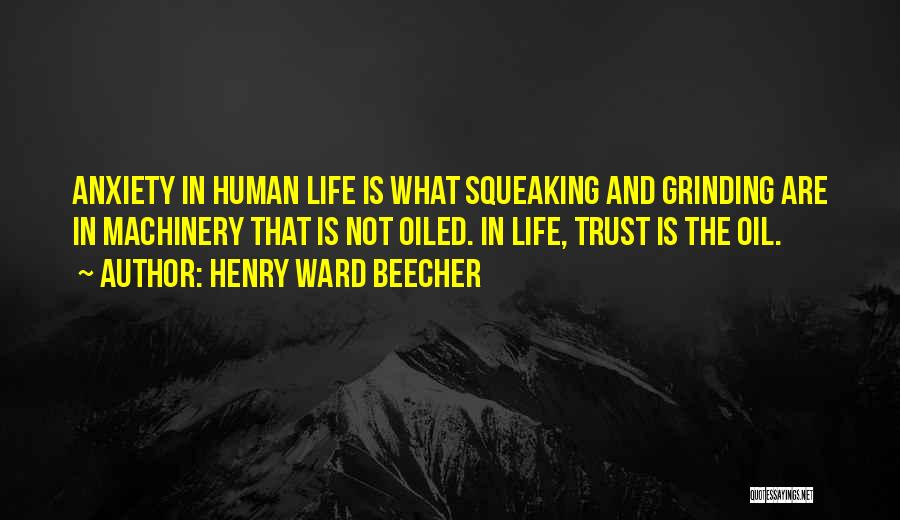 Trust No One Funny Quotes By Henry Ward Beecher
