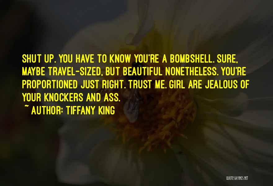 Trust No One Funny Quotes By Tiffany King