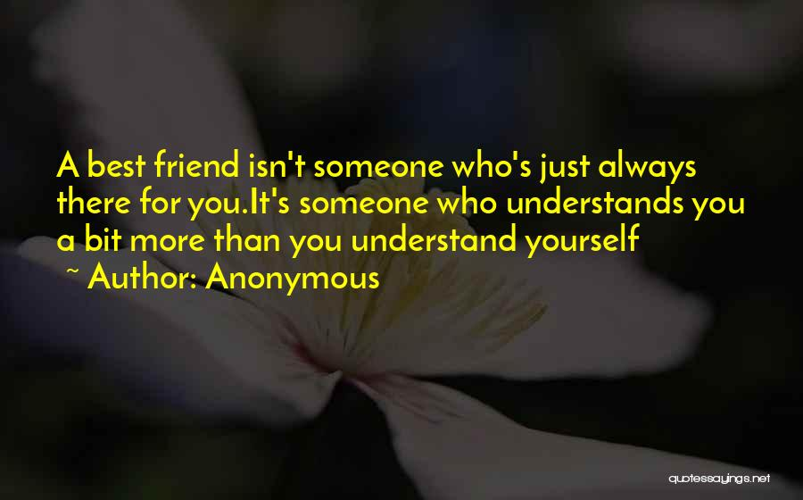Trust Yourself Quotes By Anonymous