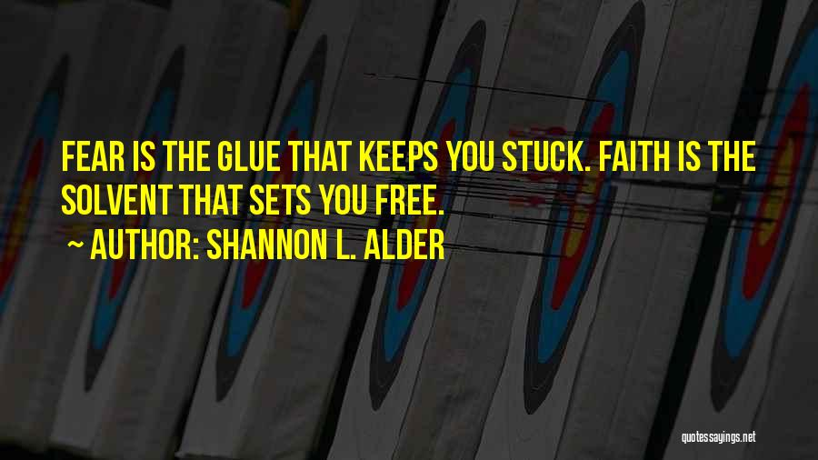 Trusting God's Plan Quotes By Shannon L. Alder