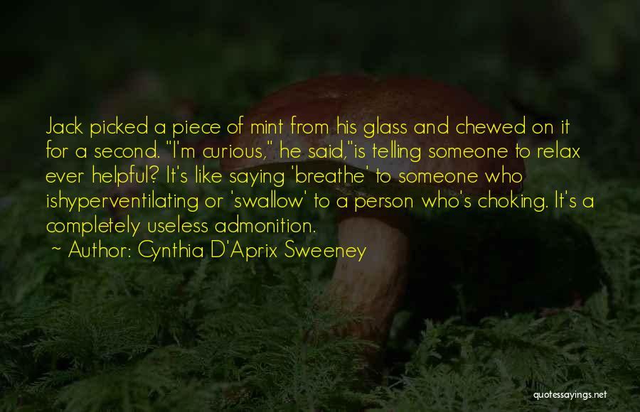 Truth And Fiction Quotes By Cynthia D'Aprix Sweeney