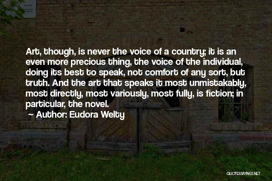 Truth And Fiction Quotes By Eudora Welty