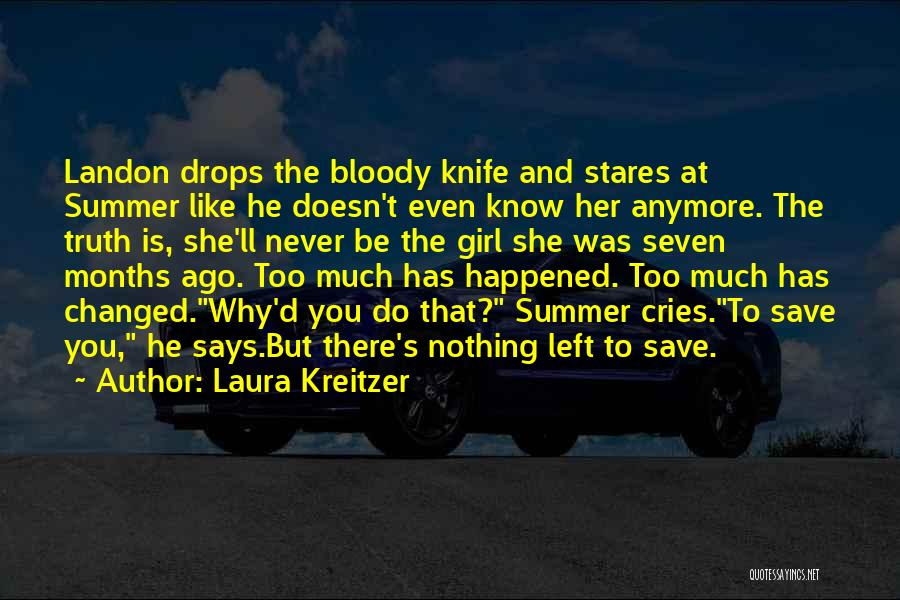 Truth And Fiction Quotes By Laura Kreitzer