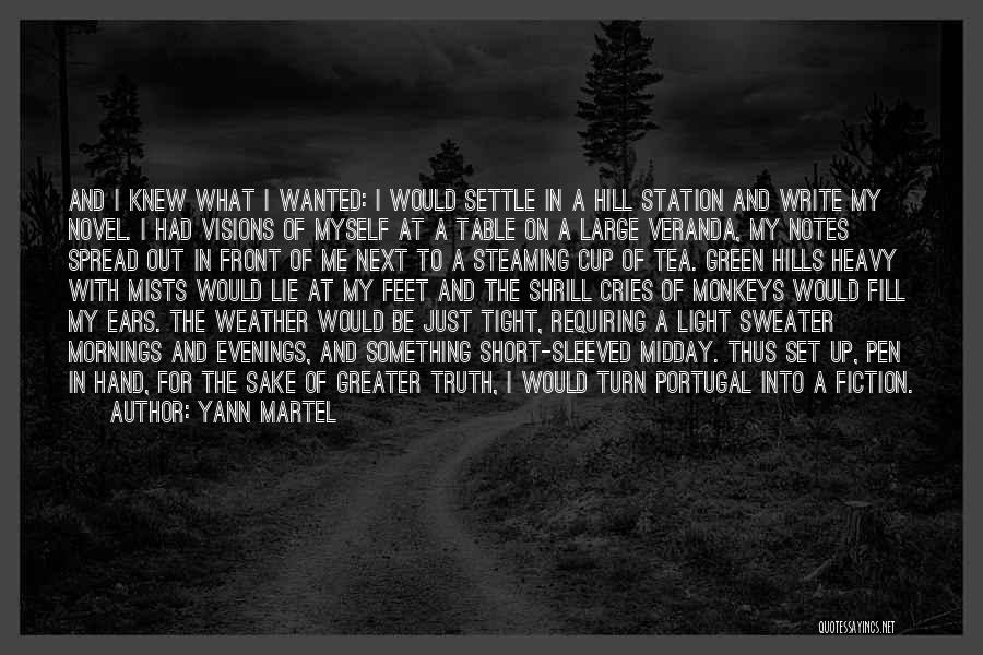 Truth And Fiction Quotes By Yann Martel