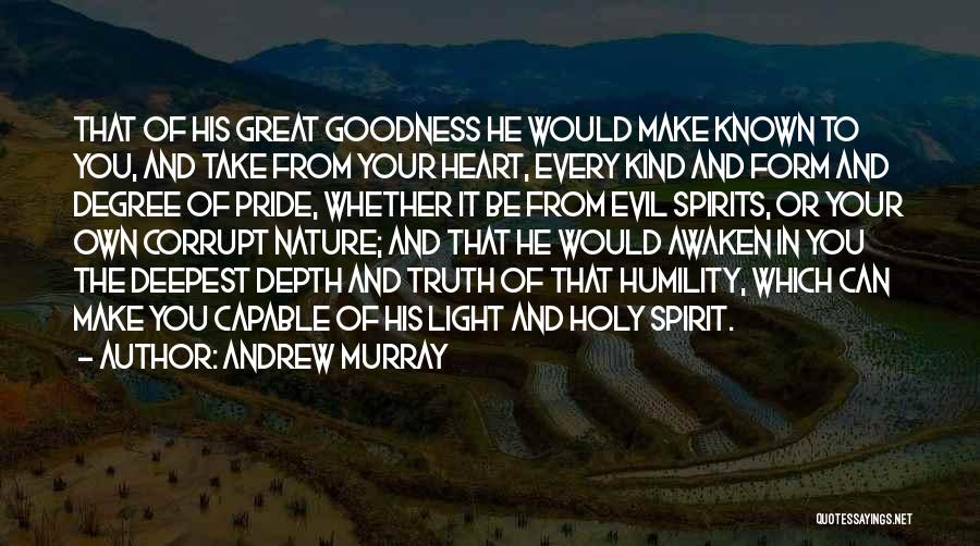 Truth Be Known Quotes By Andrew Murray