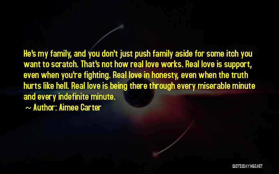 Truth Hurts Love Quotes By Aimee Carter