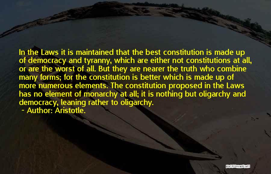 Truth In Government Quotes By Aristotle.