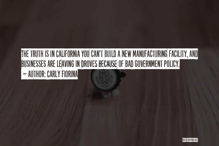Truth In Government Quotes By Carly Fiorina