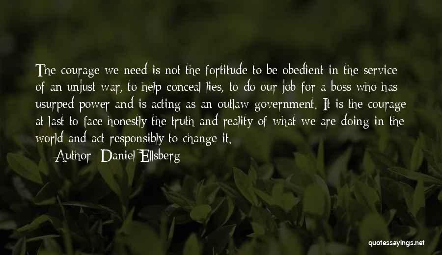 Truth In Government Quotes By Daniel Ellsberg