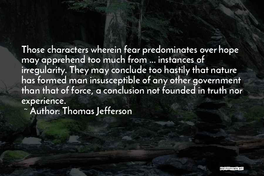 Truth In Government Quotes By Thomas Jefferson