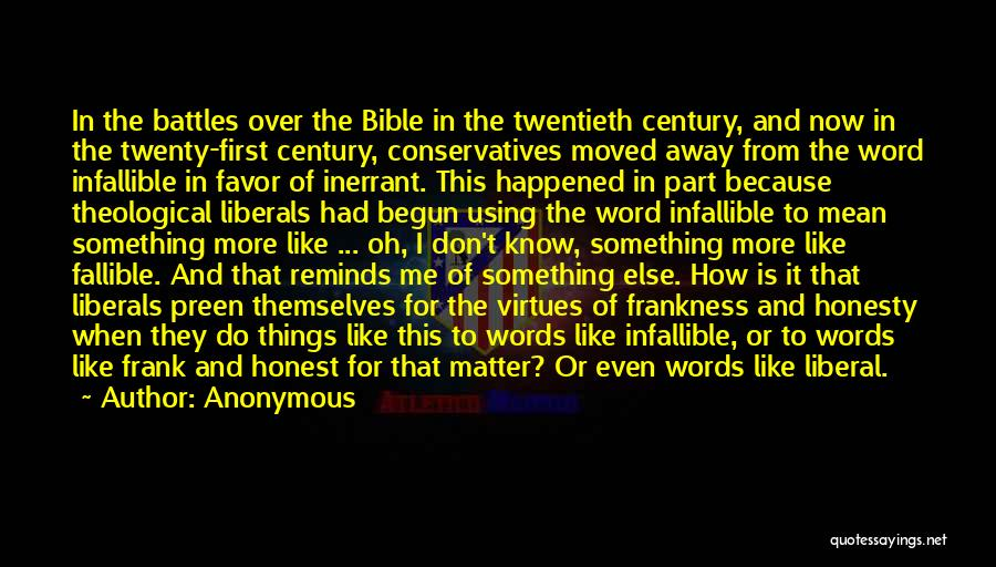 Truth In The Bible Quotes By Anonymous