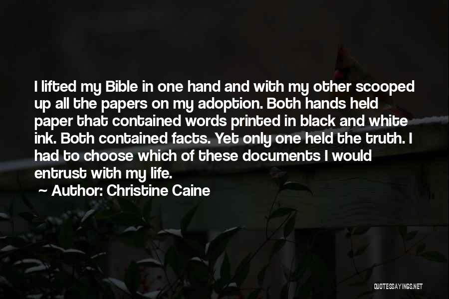 Truth In The Bible Quotes By Christine Caine