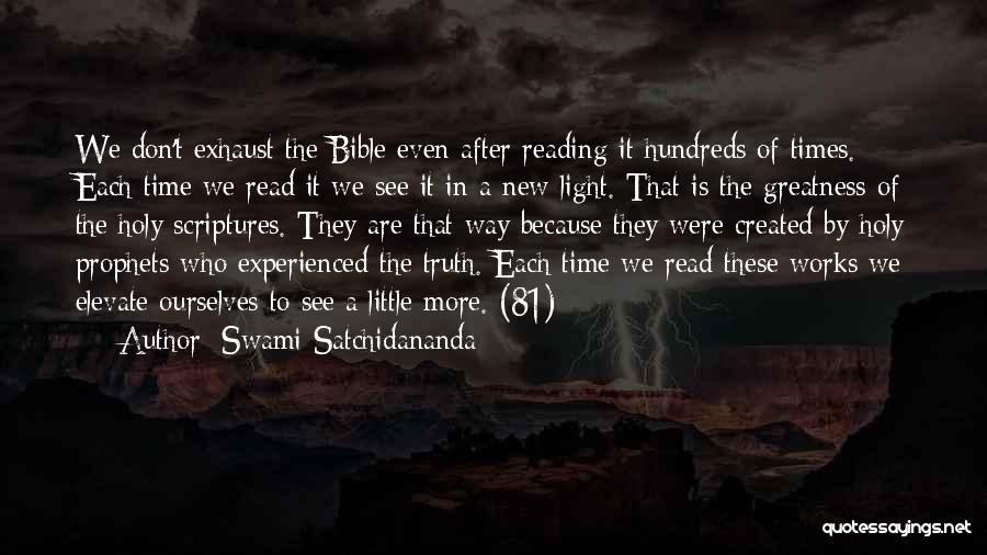 Truth In The Bible Quotes By Swami Satchidananda