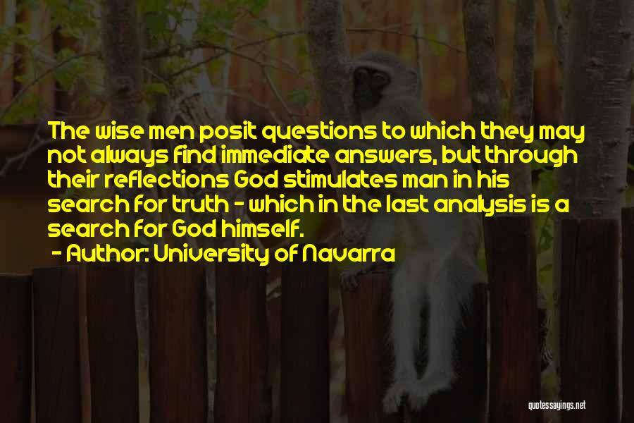 Truth In The Bible Quotes By University Of Navarra