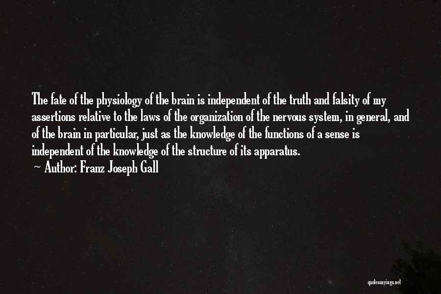 Truth Is Relative Quotes By Franz Joseph Gall
